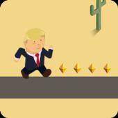 Trump on the Jump icon