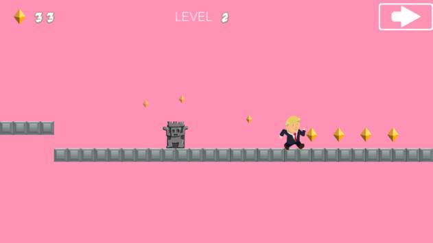 Trump on the Jump apk screenshot