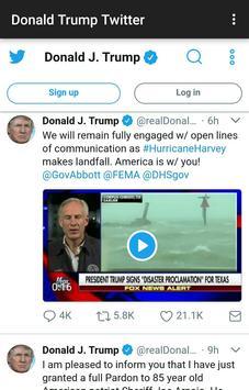 Donald Trump Twitter screenshot 1