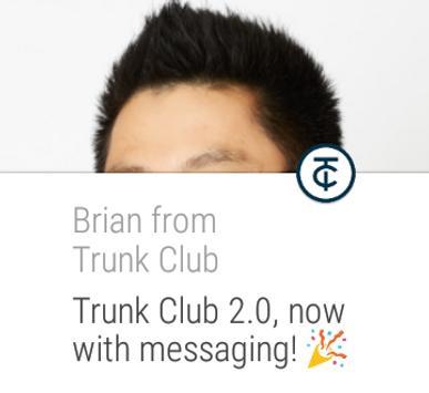 Trunk Club apk screenshot