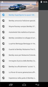 Bentley Itali apk screenshot