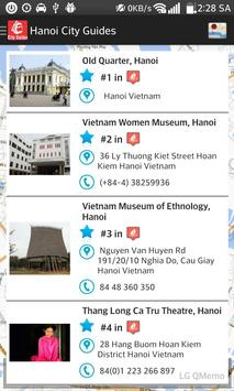Hanoi City Guides poster
