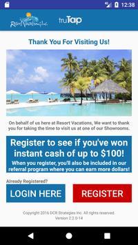 Resort Vacations truTap v2.0 poster