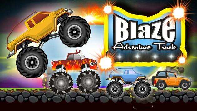Blaze Adventure Truck poster