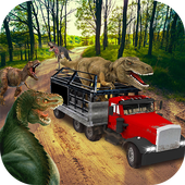 Dino Truck Transport : Angry Dinosaur  Capture icon