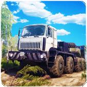 Offroad Trucker : Muddy Tracks Cargo Transport 3D icon