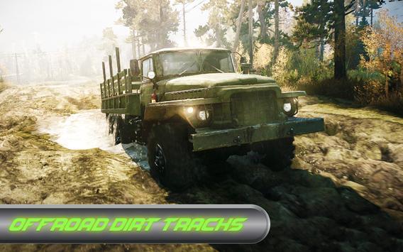 Offroad Trucker : Muddy Tracks Cargo Transport 3D screenshot 10