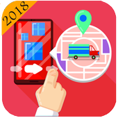 Truck Navigator : Truck Gps Navigation 2018, Free icon
