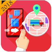 Truck Navigator : Truck Gps Navigation 2018, Free icon