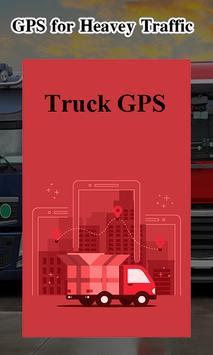 Truck Navigator : Truck Gps Navigation 2018, Free poster
