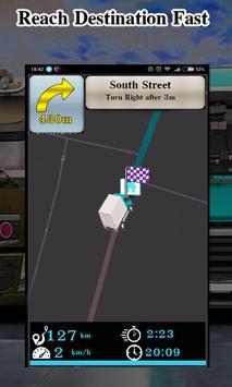 Truck Navigator : Truck Gps Navigation 2018, Free screenshot 10
