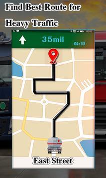 Truck Navigator : Truck Gps Navigation 2018, Free screenshot 1