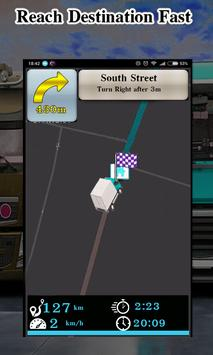 Truck Navigator : Truck Gps Navigation 2018, Free screenshot 2