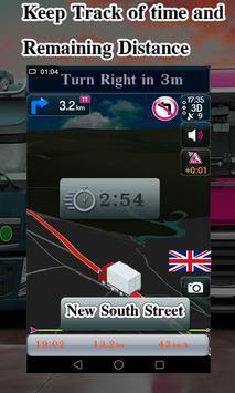 Truck Navigator : Truck Gps Navigation 2018, Free screenshot 3