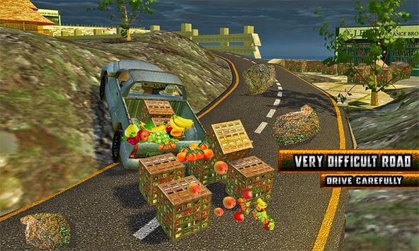 Truck Hill Transporter Fruits screenshot 4