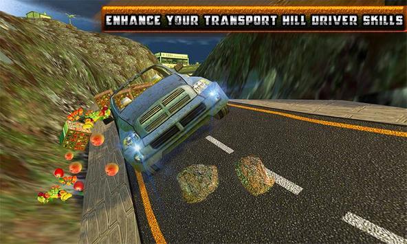 Truck Hill Transporter Fruits screenshot 5