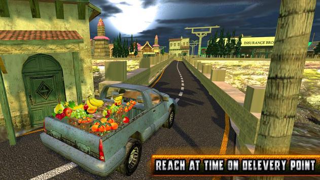 Truck Hill Transporter Fruits screenshot 9