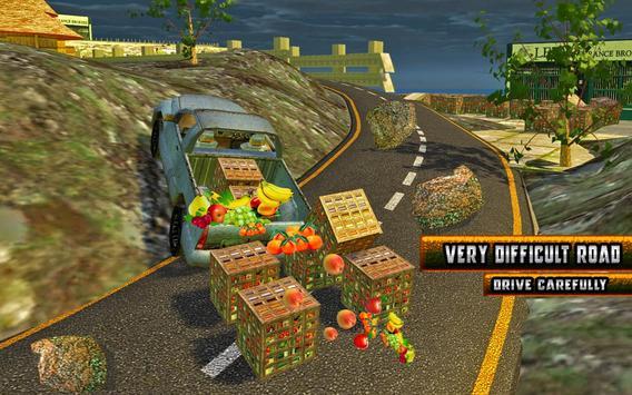 Truck Hill Transporter Fruits screenshot 11