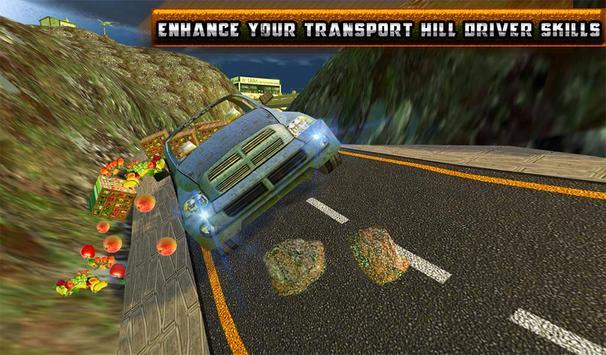Truck Hill Transporter Fruits screenshot 17