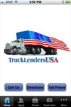 Truck Lenders USA poster