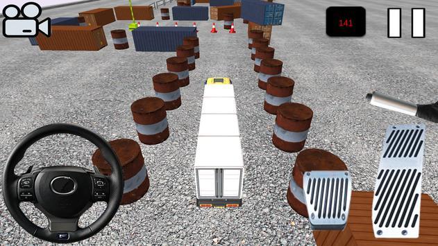Truck Parking 3D :Simülatör poster