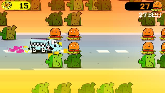 Truck Cadillac Burger The Game apk screenshot