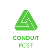 Conduit POST icon