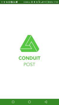 Conduit POST poster