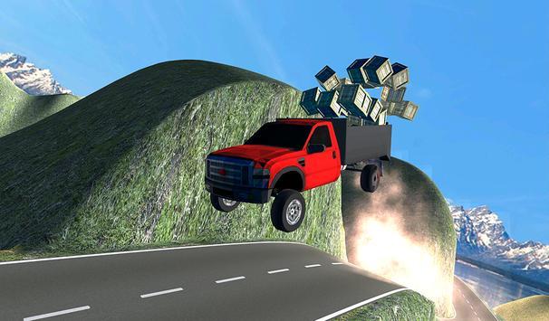 Truck drivers Cargo Speed 3D poster