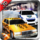 Police Car Crime Pursuit X2 3D icon