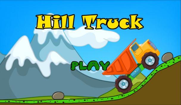 Truck Construction Hill Climb poster