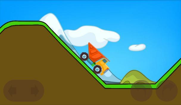 Truck Construction Hill Climb screenshot 12