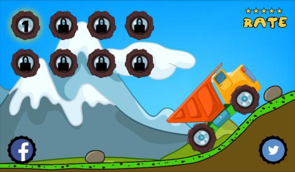 Truck Construction Hill Climb screenshot 9
