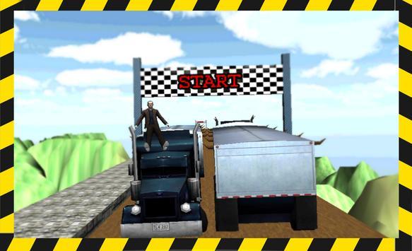 Hill Climb Racing Truck 3D poster