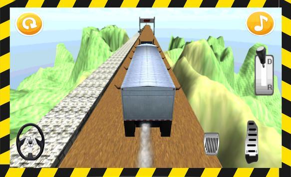 Hill Climb Racing Truck 3D apk screenshot