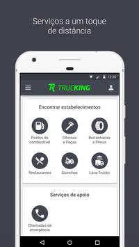 Trucking App – Fretes, Cargas, Postos e Serviços poster
