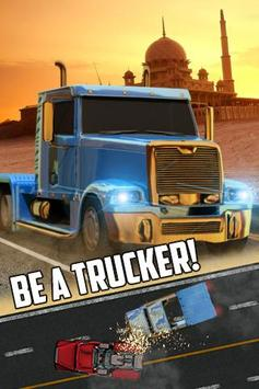 Truck Simulation Game 2017 poster