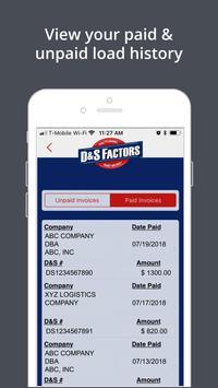 D&S Factors screenshot 3