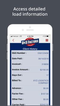 D&S Factors screenshot 1