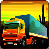 Truck Driver Transpoter Jump icon