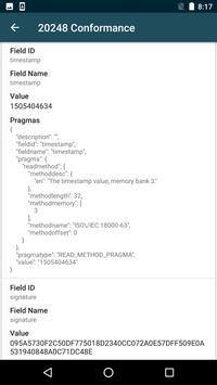 DigSig Conformance apk screenshot