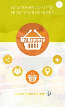 My Grocery (Advance Shopping) screenshot 1