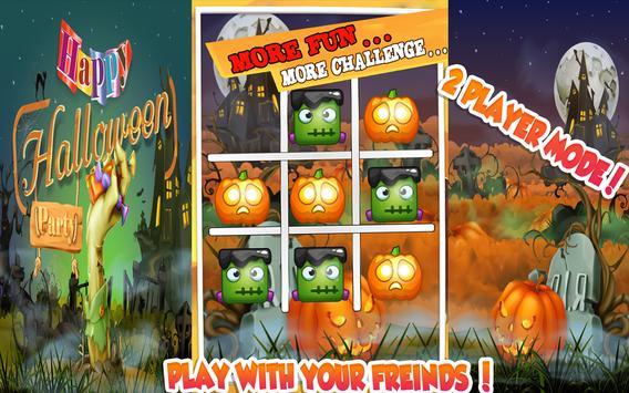 Halloween Tic Tac Toe Free apk screenshot