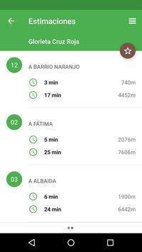 Bus Cordoba (España) apk screenshot