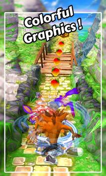 Temple Bandicoot: Crash Run poster