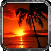 Beautiful Sunset Wallpaper HD icon