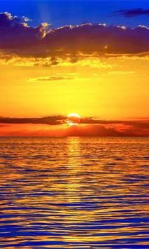 Beautiful Sunset Wallpaper HD poster