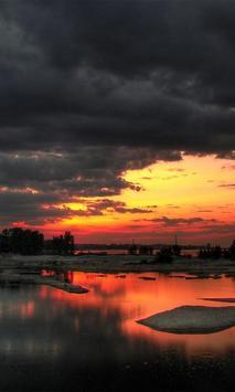 Beautiful Sunset Wallpaper HD screenshot 1