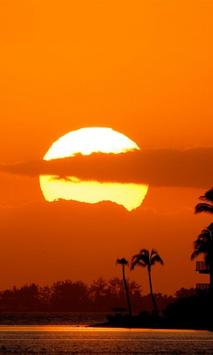 Beautiful Sunset Wallpaper HD screenshot 2