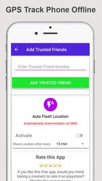 GPS Phone Tracker: Offline mode Phone Tracker screenshot 4